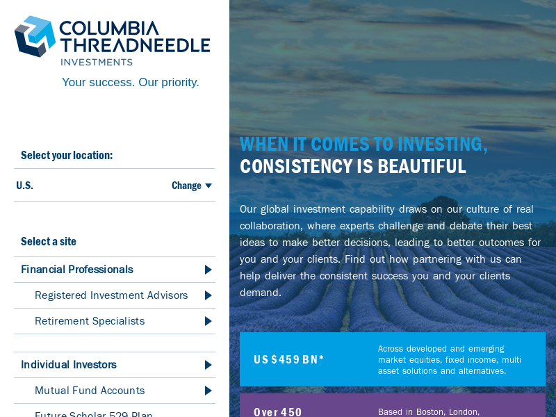 Columbia Threadneedle Investments - Asset Management - Funds