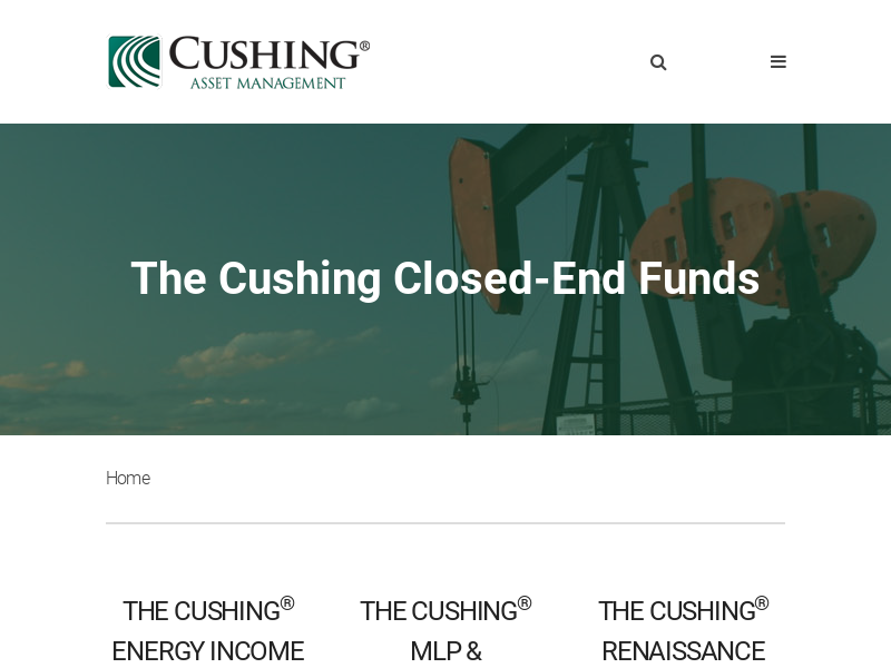 The Cushing Closed-End Funds - Cushing Asset Management Closed-End Funds
