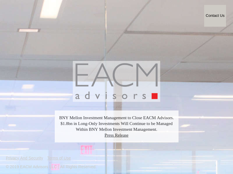 Home | EACM Advisors