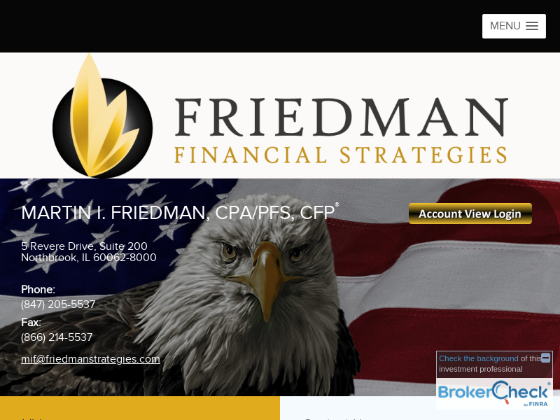 Friedman Financial Strategies