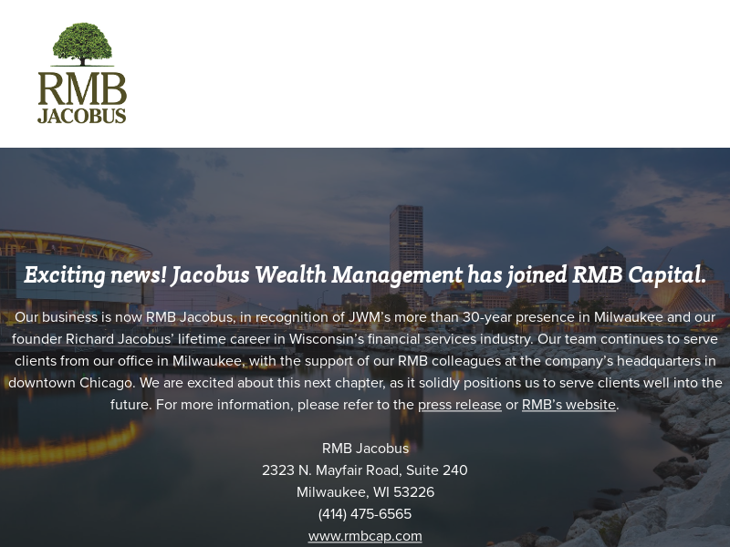 Jacobus Wealth Management, Inc. | Home