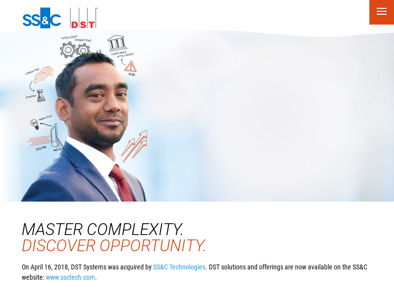 Master Complexity. Discover Opportunity.   DST Systems