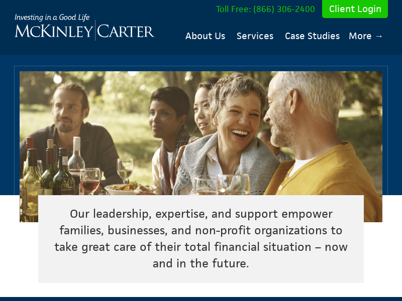 Investment & Wealth Management and Retirement Planning  McKinley Carter Wealth Management - McKinley Carter Wealth Services