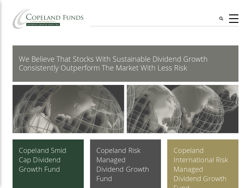 Copeland Fund | Dividend Growth Investing