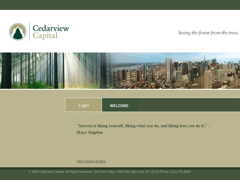 Cedarview Capital