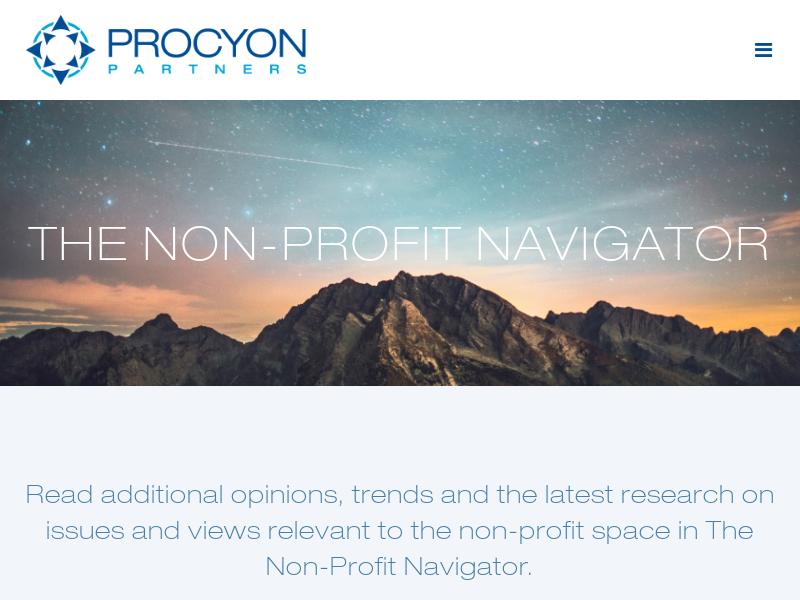The Non-Profit Navigator - Non-Profit Navigator
