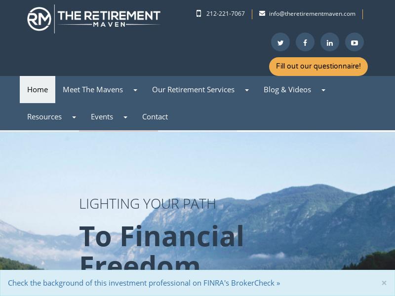 Home | The Retirement Maven™