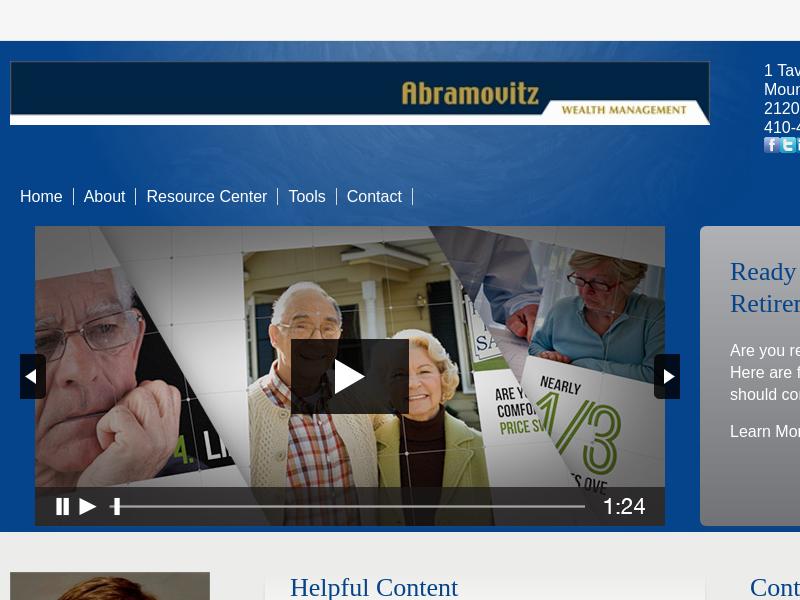 Home | Abramovitz Wealth Management