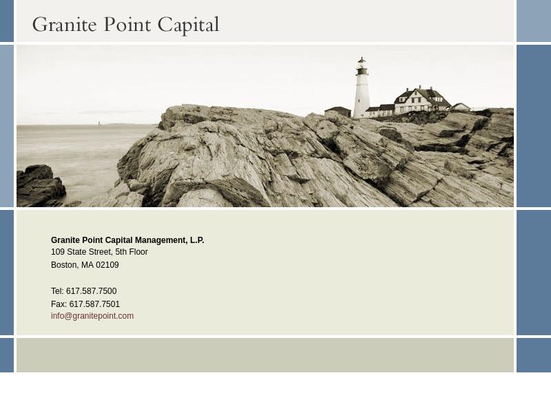Granite Point Capital