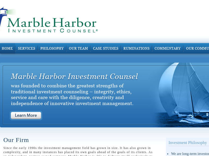Marble Harbor Investment Counsel - Home