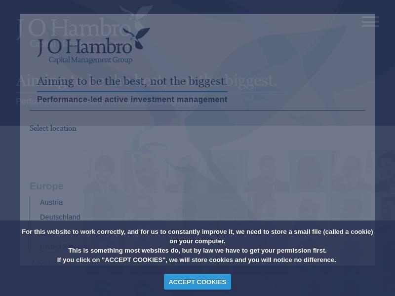 J O Hambro Capital Management (JOHCM)