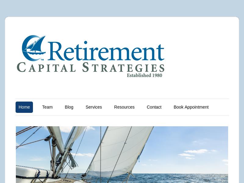 Retirement Capital Strategies – Financial Planning, Retirement Planning, Money Management, Certified Financial Planners, CFP, San Jose, CA