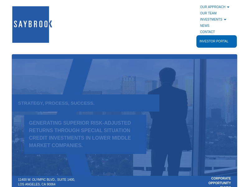 Welcome to Saybrook Corporate Opportunity Funds