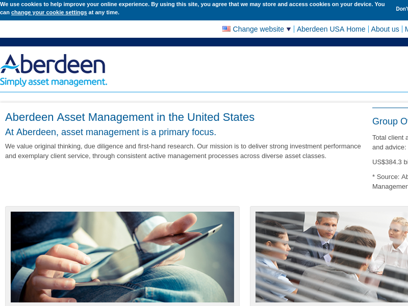 Aberdeen Asset Management in the United States