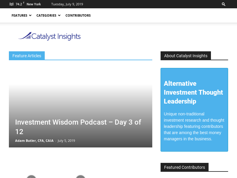 Commodity Insights Archives - Catalyst Insights