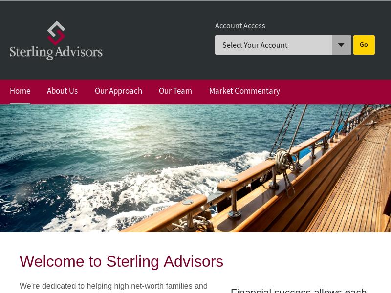 Sterling Advisors   Home